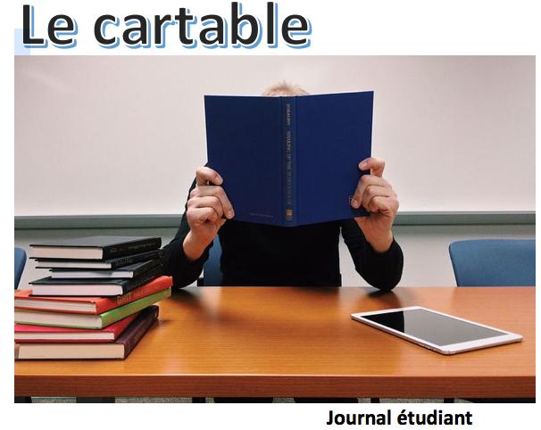 Journal étudiant Le Cartable